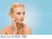 Купить «beautiful young woman face», фото № 6825748, снято 9 марта 2013 г. (c) Syda Productions / Фотобанк Лори