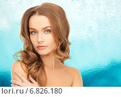Купить «beautiful young woman with bare shoulders», фото № 6826180, снято 10 октября 2010 г. (c) Syda Productions / Фотобанк Лори