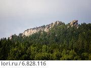 Купить «Скальный массив Аракульский Шихан, Челябинская область», фото № 6828116, снято 24 августа 2014 г. (c) Александр Усик / Фотобанк Лори