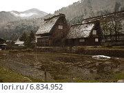 Этническая японская деревня Ширакова-го (2013 год). Стоковое фото, фотограф Игорь Чириков / Фотобанк Лори