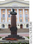 Майор М.П.Одинцов - дважды герой Советского Союза (2014 год). Редакционное фото, фотограф Анатолий Матвейчук / Фотобанк Лори