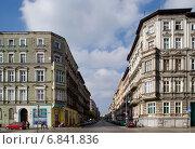 Wroclaw (Breslau), Poland, Gruen currently building on Plac Swietego Macieja (2010 год). Редакционное фото, агентство Caro Photoagency / Фотобанк Лори