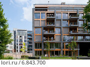 Купить «Berlin, Germany, new construction of condos in Berlin-Mitte», фото № 6843700, снято 5 июля 2012 г. (c) Caro Photoagency / Фотобанк Лори