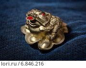 Талисман фен-шуй для привлечения денег, Жаба богатства. Стоковое фото, фотограф Анастасия Кузьмина / Фотобанк Лори