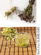 Натюрморт с липовым чаем. Стоковое фото, фотограф Daodazin / Фотобанк Лори