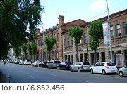 Новосибирск, Красный проспект. Пересечение с улицей Коммунистической (2014 год). Редакционное фото, фотограф Илья Пермяков / Фотобанк Лори