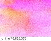 Купить «Розовый акварельный фон», иллюстрация № 6853376 (c) Анна Павлова / Фотобанк Лори