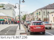 Купить «Час пик на Пятницкой улице», эксклюзивное фото № 6867236, снято 26 августа 2014 г. (c) Алёшина Оксана / Фотобанк Лори