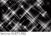 Черно-белые пересекающиеся линии. Стоковая иллюстрация, иллюстратор Анисенко Дина Васильевна / Фотобанк Лори