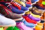 sport shoes at fashionable shop, фото № 6874732, снято 15 апреля 2014 г. (c) Яков Филимонов / Фотобанк Лори
