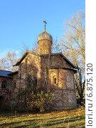 Купить «Церковь Благовещения. Великий Новгород», фото № 6875120, снято 16 июня 2019 г. (c) Зезелина Марина / Фотобанк Лори