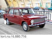 Купить «VAZ-2101», фото № 6880716, снято 19 августа 2014 г. (c) Art Konovalov / Фотобанк Лори