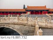Купить «Запретный город. Пекин, Китай», фото № 6881732, снято 3 января 2015 г. (c) Liseykina / Фотобанк Лори