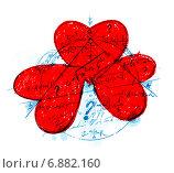 Купить «Любовный треугольник. Геометрия любви», эксклюзивная иллюстрация № 6882160 (c) Александр Павлов / Фотобанк Лори