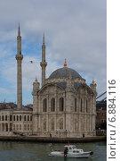 Мечеть Долмабахче, Стамбул, Турция (2015 год). Редакционное фото, фотограф Nina Zotina / Фотобанк Лори