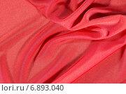 Красная ткань. Стоковое фото, фотограф Андрей Семин / Фотобанк Лори