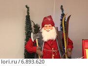 Санта Клаус, Santa Claus, Финляндия (2012 год). Редакционное фото, фотограф Алексей Мальцев / Фотобанк Лори