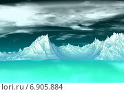 Купить «Чужая планета. Высокогорье», иллюстрация № 6905884 (c) Parmenov Pavel / Фотобанк Лори