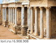 Купить «Antique Roman Theatre in Merida», фото № 6908908, снято 19 ноября 2014 г. (c) Яков Филимонов / Фотобанк Лори