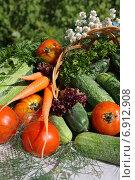 Натюрморт с овощами. Стоковое фото, фотограф Мельникова Надежда / Фотобанк Лори