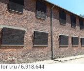 Освенцим Аушвиц, здание содержания заключенных (2014 год). Редакционное фото, фотограф Евгения Бугас / Фотобанк Лори
