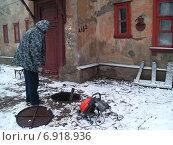 Чистка канализации (2007 год). Стоковое фото, фотограф Андрей Павлов / Фотобанк Лори