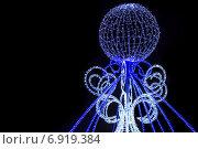 Рождественская иллюминация. Стоковое фото, фотограф Игорь Мухлаев / Фотобанк Лори