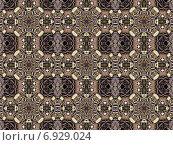Купить «Бесшовный текстурный узор в коричневых тонах», иллюстрация № 6929024 (c) Astronira / Фотобанк Лори