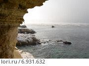 Чёрное море парит. Вид с 35-й батареи. Стоковое фото, фотограф Ивашков Александр / Фотобанк Лори
