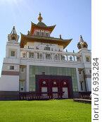 Купить «Золотая обитель Будды Шакьямуни», эксклюзивное фото № 6933284, снято 1 сентября 2012 г. (c) Volgograd.travel / Фотобанк Лори