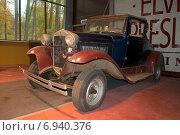 Купить «Автомобиль Ford Model A (1927) в Музее старинных автомобилей. Зеленогорск», фото № 6940376, снято 18 октября 2012 г. (c) Виктор Карасев / Фотобанк Лори