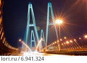 Большой обуховский мост в Санкт-Петербурге (2012 год). Редакционное фото, фотограф Лукаш Дмитрий / Фотобанк Лори