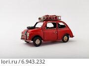 Красная машина. Стоковое фото, фотограф Альберт Васильев / Фотобанк Лори