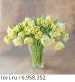 Букет тюльпанов. Стоковое фото, фотограф Ириша Карбышева / Фотобанк Лори