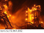 Нефтеперерабатывающий завод / Oil Refinery. Стоковое фото, фотограф Руслан Юсупов / Фотобанк Лори