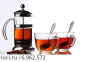 Чай с корицей. Стоковое фото, фотограф Андрей Оршак / Фотобанк Лори
