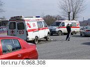 ДТП с машиной скорой помощи (2008 год). Редакционное фото, фотограф М. Гимадиев / Фотобанк Лори