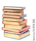 Купить «Книги на белом фоне», эксклюзивное фото № 6974356, снято 5 февраля 2015 г. (c) Юрий Морозов / Фотобанк Лори