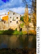 Купить «Vertical autumn landscape», фото № 6977156, снято 15 ноября 2014 г. (c) Яков Филимонов / Фотобанк Лори