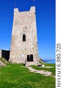 Купить «Главная восточная башня Анакопийской крепости», фото № 6980720, снято 31 марта 2013 г. (c) Мартынов Антон / Фотобанк Лори