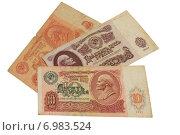 Купить «Деньги. Советские рубли», фото № 6983524, снято 18 января 2015 г. (c) Анна Зеленская / Фотобанк Лори