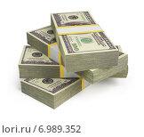 Купить «Пачки доларов», иллюстрация № 6989352 (c) Anatoly Maslennikov / Фотобанк Лори