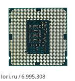 Купить «Современный процессор компьютера», фото № 6995308, снято 17 декабря 2014 г. (c) Михаил Коханчиков / Фотобанк Лори