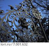 Чугунная ограда у собора Спас-на-Крови, Санкт-Петербург. Редакционное фото, фотограф Наталья Большакова / Фотобанк Лори