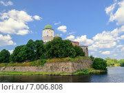 Купить «Выборгский замок», фото № 7006808, снято 3 августа 2013 г. (c) Зезелина Марина / Фотобанк Лори