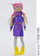 Интерьерная кукла Тильда ручной работы (2012 год). Редакционное фото, фотограф ВЛАДИМИР КУШПИЛЬ / Фотобанк Лори
