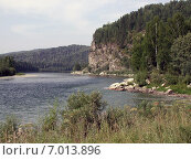 Купить «Река Бия, Алтай», фото № 7013896, снято 3 августа 2005 г. (c) Александр Карпенко / Фотобанк Лори