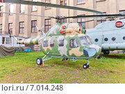 Купить «Советский многоцелевой вертолёт Ми-2 в Музее Войска Польского в Варшаве, Польша», фото № 7014248, снято 20 октября 2014 г. (c) Иван Марчук / Фотобанк Лори