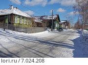 Улица в старой части города. Первоуральск (2015 год). Стоковое фото, фотограф М. Гимадиев / Фотобанк Лори