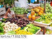 Купить «Мале - столица Мальдив, городской рынок», фото № 7032576, снято 12 февраля 2013 г. (c) Сергей Дубров / Фотобанк Лори